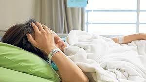 زینب 13سالهبهدلیل عفونت مغزبستری شده است.